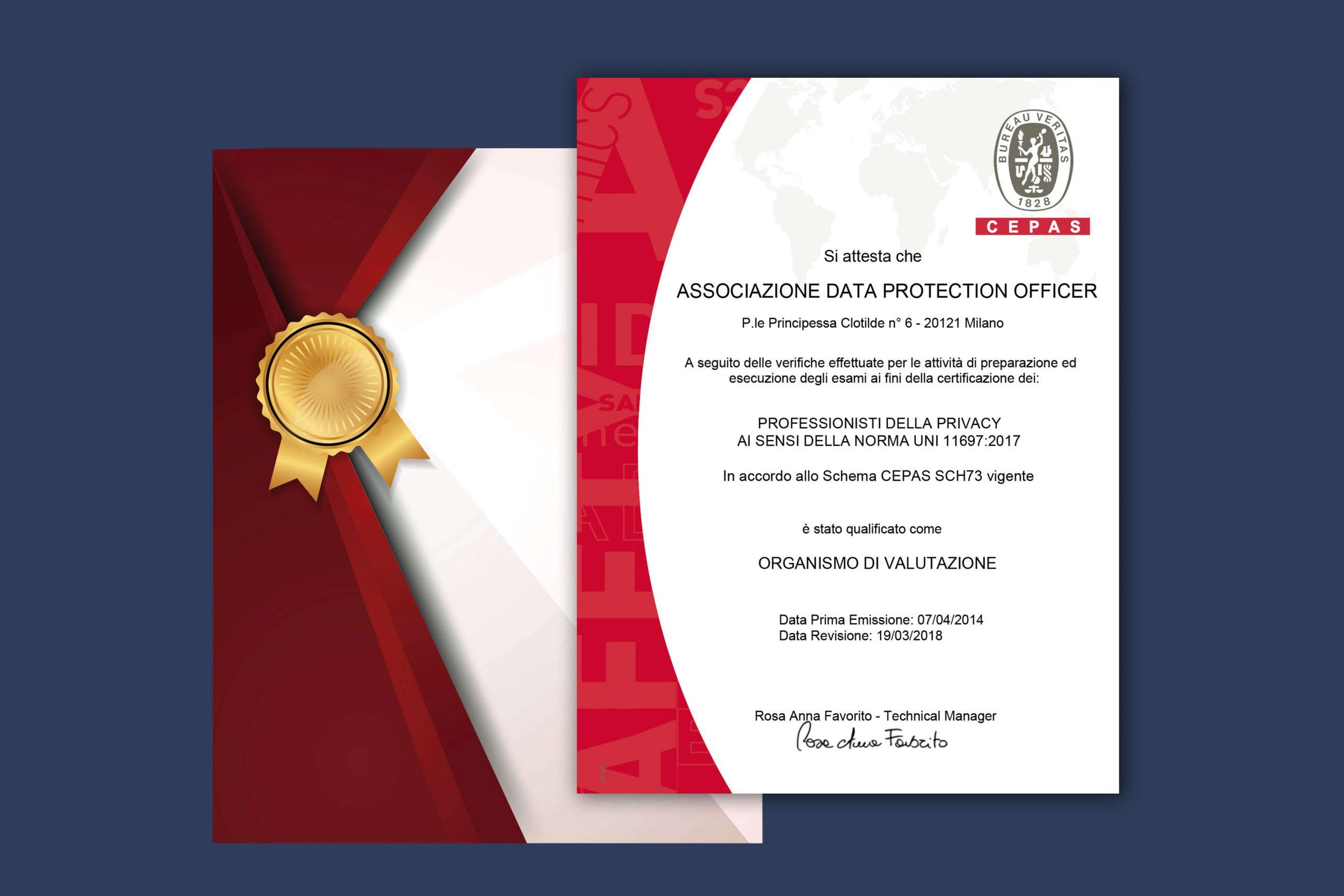 Attestato Asso DPO - professionisti privacy
