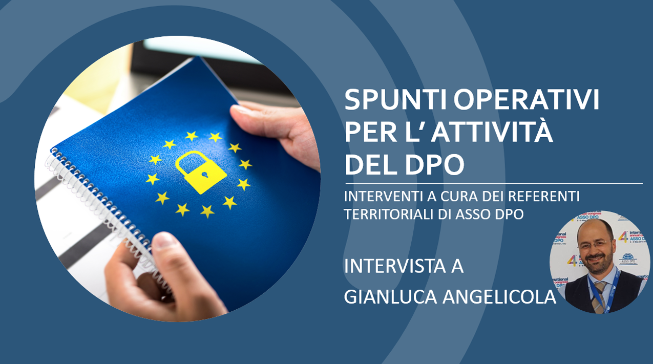 Intervista Angelicola ASSO DPO
