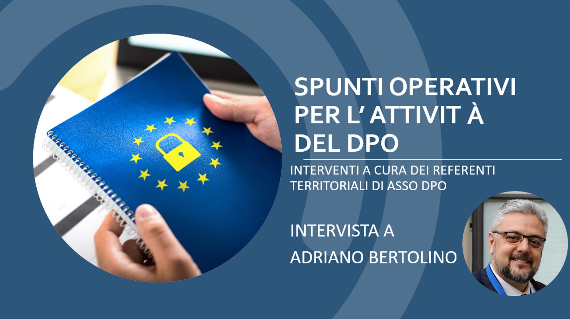 Intervista Sicilia Bertolino ASSO DPO