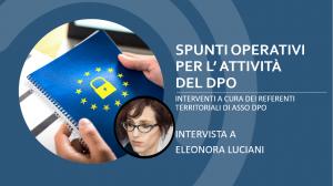 GDPR Luciani Marche ASSO DPO